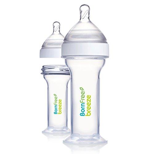 Born Free Breeze 2 oz. Newborn Plastic Bottle, 2-Pack (Bornfree Slow Flow compare prices)