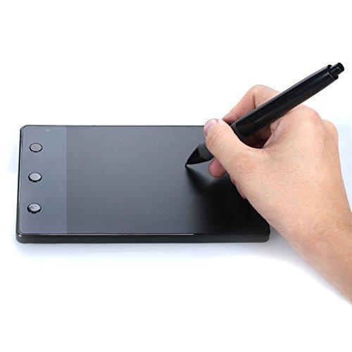Huion 4 x 2.23 Pouces Tablette graphique Signature Pad H420 avec 3 Touches Express