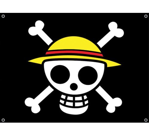 One Piece Group Wallpaper  Strawhat Pirates Flags