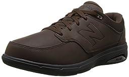 New Balance Men\'s MW813 Walking Shoe, Brown, 9.5 4E US