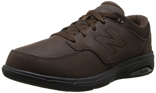 New Balance Men's MW813 Walking Shoe, Brown, 12 2E US