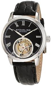 Stuhrling Original Men's 312.33151 Tourbillon Dominous Limited Edition Mechanical Silver Tone Watch