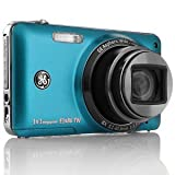 GE E1486TW 14MP Digital Camera with 8X Optical Zoom and 3.0-Inch Touch Panel RUBY RED