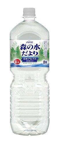 [2CS] コカ・コーラ 森の水だより 日本アルプス (2.0L×6本)×2箱