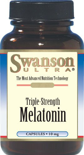 Triple Strength Melatonin 10 Mg 60 Caps