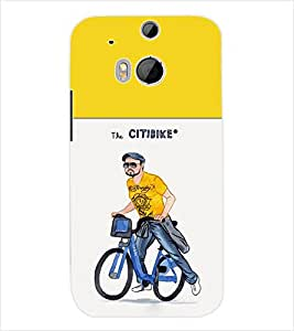 ColourCraft Boy Back Case Cover for HTC ONE M8