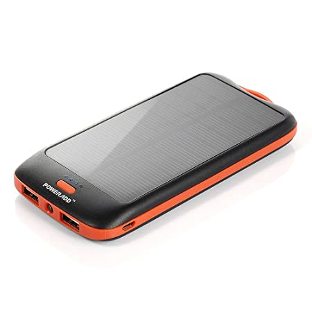 Solar Charger Charging under sunshine bank for emergency use when outdoor on traveling, hiking, camping and more. It is combined environmental friendly and convenience. Power Supply 10000mah high capacity gives an iPhone 6 almost 4 solid charg...