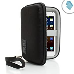 USA Gear Hard Shell Carrying Case for Samsung Galaxy Media Player 5.0 , 4.2 / Sony Walkman / Mach Speed / PONO / Beats Music and More Media & MP3 Players ** Includes Microfiber Cleaning Cloth **
