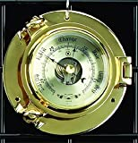 Precision Brass Porthole Barometer