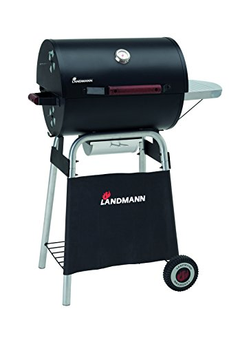 Landmann Barbecue a carbonella Cart Taurus Expert, Nero