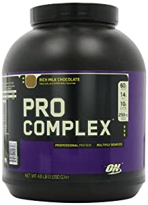 Optimum Nutrition Pro Complex, Rich Milk Chocolate, 4.6 Pound from Optimum Nutrition