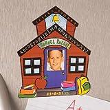 School House Photo Frame Magnet