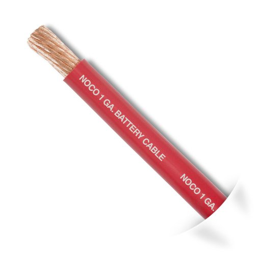 NOCO W125R Red 25' 1 AWG SGT Battery Cable