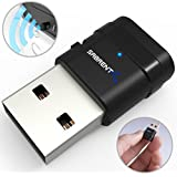 Sabrent AC600 Dual Band Wi-Fi USB Mini Adapter IEEE 802.11 a/b/g/n/ac with WPS for Easy Connection Support Windows XP/7/8/8.1/10 Mac OS 10.6 and above (NT-WSAC)