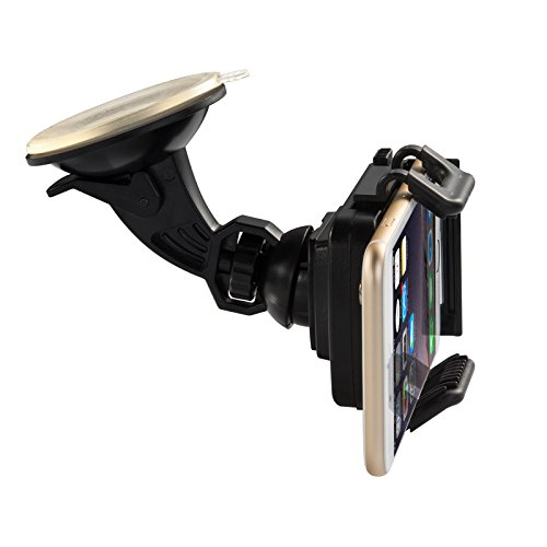 Taotronics? Universal Windshield & Dashboard Car Mount Cradle Holder For Iphone 6 5S 5C 5 4S 4 3Gs, Samsung Galaxy Note 3 Note 2 S4 S3 Mega, Nokia Lumia 1020 925 928 920, Htc Desire 500 Droid Dna One 8X 8S, Google Nexus 4, Blackberry Q10 Q5 Z30 Z10, Lg Op