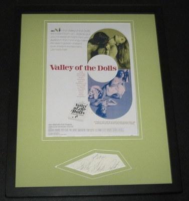 Patty Duke Astin Signed Framed 11x14 Photo Poster Display Valley of the Dolls - Autographed College Photos at Amazon.com