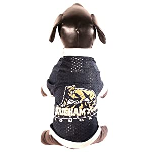 NCAA Brigham Young University Cougars Collegiate Athletic Mesh Dog Jersey by All Star Dogs