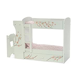 Fits american girl doll bunk bed desk combo for Furniture of america assembly instructions