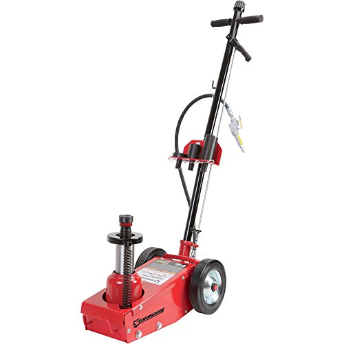 Oil Capacity Lifts Parts : Strongway air hydraulic quick lift service jack ton