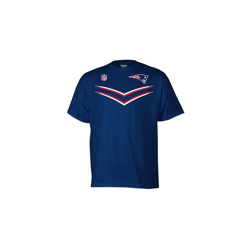 New England Patriots Team Color Sideline T and T T Shirt