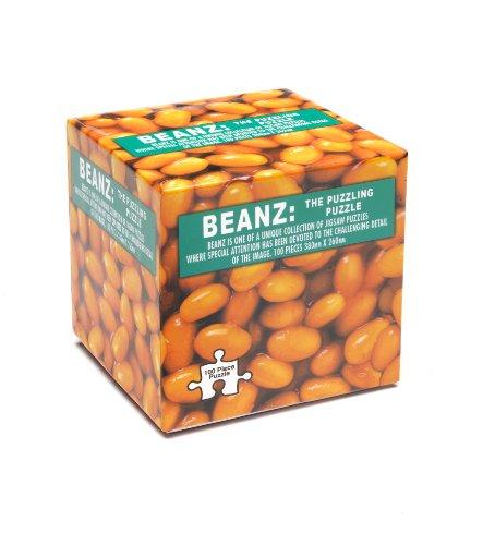 Impossipuzzle Beanz Beans Jigsaw Cube Puzzle 100 Pieces Unique Challenge - 1