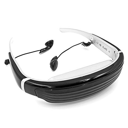 """Seesii Vision-720 68"""" Virtual Digital Portable 3D Video Glasses Personal Theater Widescreen with 8GB TF Card&3D Stereo Sound for TV BOX/ PSP/PS2/PS3/360-BOX/FPV"""