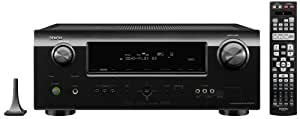 Denon DHT-591BA Home Theater System with Denon AV Receiver and Boston Acoustics 5.1 Speaker Package (Black) (Discontinued by Manufacturer)