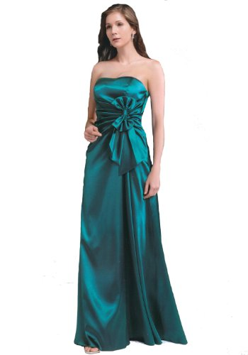 JuJu &amp; Christine Langes Satin Abendkleid Ballkleid 2004 Damen Ves. Farben Gr. 34 &#8211; 42