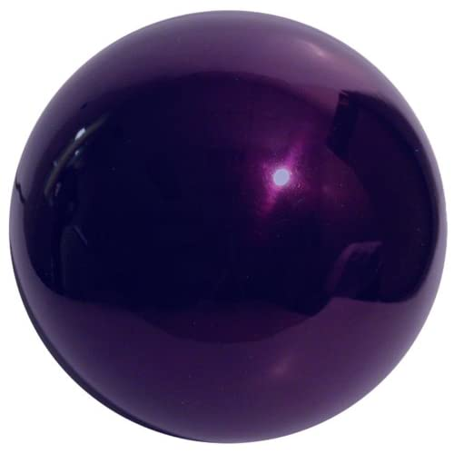 VCS PRP10 Mirror Ball 10-Inch Purple Stainless Steel Gazing Globe