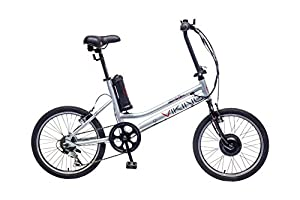 Viking Street Easy Electric Bike - White/Silver, 20-Inch by Viking