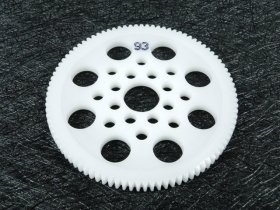 3Racing #3R/3Rac-Sg4893 48 Pitch Spur Gear 93T For Most Rc Cars