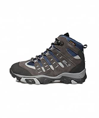 Jack Wolfskin  BOYS RASCAL TEXAPORE, Chaussures de randonnée garçon Matisse Blue 30