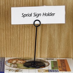Amazonm  Decorative Sign Holders Spiral Sign Holders. Decorative Windmills. Florida Room Decorating Ideas. Paula Deen Dining Room Furniture. Luxury Decor. Decorative Towel Ring. Art For House Decoration. Princess Party Decorations. Decoration Class