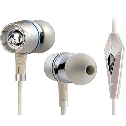 Monster Turbine Pearl High-Performance Ear-Buds with ControlTalk