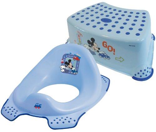 Admirable Disney Mickey Mouse Toddler Toilet Training Seat Step Short Links Chair Design For Home Short Linksinfo