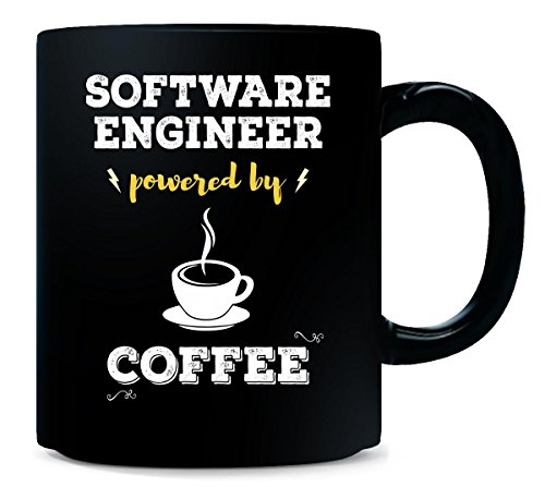 Software Engineer Powered By Coffee. Cool Gift - Mug (Cool Software compare prices)