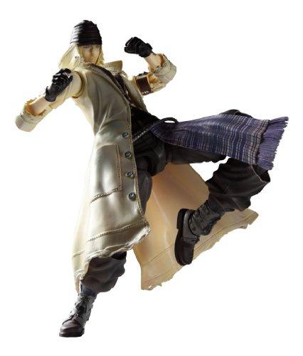 FINAL FANTASY XIII PLAY ARTS改 スノウ・ヴィリアース (PVC塗装済みアクションフィギュア)