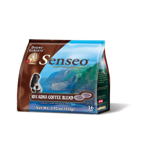 Senseo Flavor Coffee Variety Packs, Choose Your Own Combo (Kona Blend Senseo Pods (16 Pods), 1)