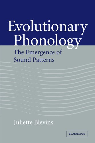 Evolutionary Phonology: The Emergence of Sound Patterns