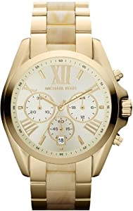 Michael Kors Michael Kors Bradshaw Chronograph Gold Tone Women's Watch - MK5722