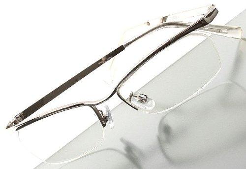 dm18 エレガント,漂う高級感 UV-cut,バレル型 シルバー,ナイロール 高品質,高級感 ハードケース付 (si+gcs)