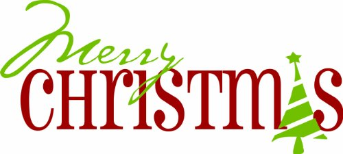 Merry Christmas Quote Wall Art Decal: The Best Christmas Wall Decals For Your Home