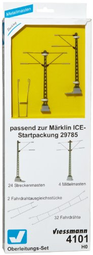 Viessmann-4101-H0-Oberleitungs-Set-ICE