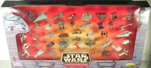 Star Wars Micro Machines Master Collector's Edition with 40 Ships