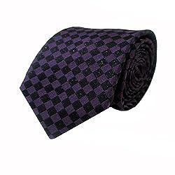 Rossini Men's Tie (UFAM25_Purple_Free Size)