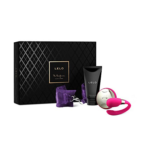 Lelo The Confession Luxury Gift Set for Couples, Silk-Chain Cuffs & Moisturizer (Tiani 2 compare prices)