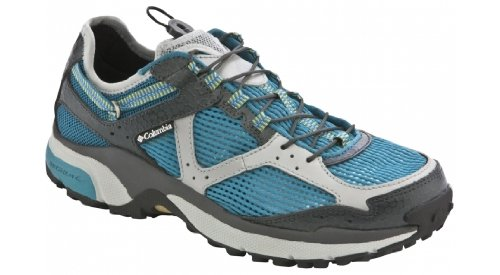 Columbia Ravenous Amphibian Women's Trail Running Shoe Aqua/Gray/Blk 8.5
