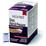 Medique 81948 Medi-First Sinus and Pressure Relief Tablets, 250 Tablets, 125 X 2