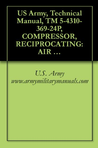 US Army, Technical Manual, TM 5-4310-369-24P, COMPRESSOR, RECIPROCATING: AIR HANDTRUCK MTD, GASOLINE ENGINE DRIVEN, 5 CFM, 175 PSI, (MELLEY E SYSTEM, INC., ... military manauals, special forces