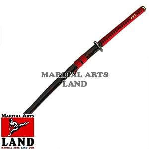 ITO Katana Handmade Sword Model 406 Red Tempest Boxed